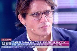 """Gabriel Garko: """"Fumo una canna ogni tanto. Non è che adesso mi arrestano?"""""""
