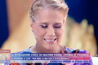"""Heather Parisi: """"Picchiata dal mio ex per 7 anni, quelli intorno a me fingevano indifferenza"""""""