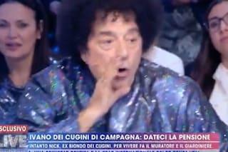 """Ettore Andenna: """"Oggi allevo polli"""", Ivano dei Cugini di Campagna a Interrante: """"Zitto, cogl***!"""""""