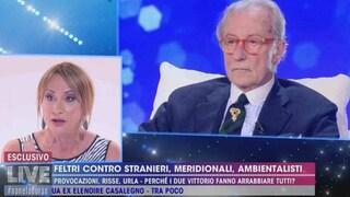 """Vittorio Feltri: """"Luxuria frigna, ma 'frocio' deriva dal latino. Dov'è l'offesa?"""""""