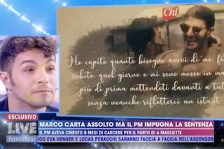"""Marco Carta assolto: """"Gli hater saranno puniti, il mio fidanzato Sirio è stato il mio rifugio"""""""