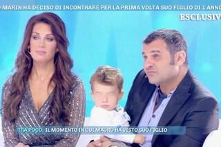 """Domenica Live, Mauro Marin incontra per la prima volta il figlio Brando: """"Voglio riconoscerlo"""""""