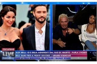 """Marco Nerozzi, ex di Delia Duran: """"Non l'ho picchiata, volevo tirare due schiaffi ad Alex Belli"""""""