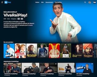 Come funziona RaiPlay, il canale per vedere Fiorello