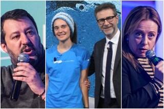 """Carola Rackete da Fabio Fazio, la furia di Matteo Salvini e Giorgia Meloni: """"In galera, non in tv"""""""