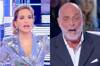 """""""Vai a casa"""": scontro tra Barbara D'Urso e Paolo Brosio a Live"""