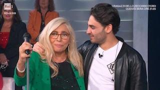 """Alberto Urso: """"Mi sono tatuato le ultime parole di mia nonna"""""""