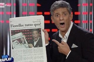 Ascolti VivaRaiplay!, è boom di Fiorello su Rai1. Tv e web sintonizzati sullo stesso canale