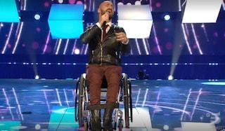 All Together Now: l'esibizione di Federico sulla sedia a rotelle incanta i giudici