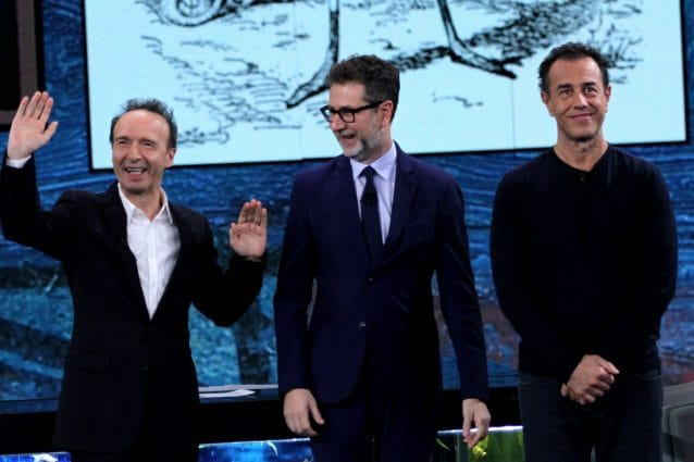 Sanremo 2020: Roberto Benigni ospite al Festival - l'annuncio