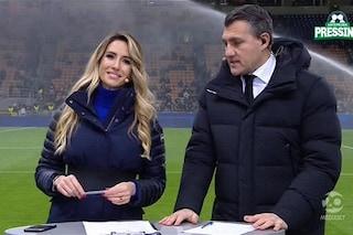 """Gaffe di Giorgia Rossi durante Inter-Barcellona: """"Record di caz*o"""""""