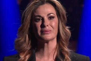 """""""La perfezione non esiste"""", Vanessa Incontrada in lacrime a 20 anni che siamo italiani"""