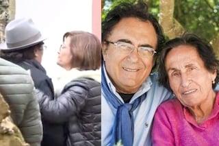 La camera ardente e il funerale di Jolanda Ottino: l'arrivo del figlio Al Bano