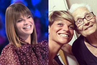 """Alessandra Amoroso: """"Mia nonna mi è venuta in sogno e mi ha chiesto di essere felice"""""""