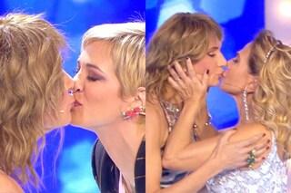 """Bacio tra Asia Argento, Vladimir Luxuria e Barbara D'Urso poi la rissa: """"Sputate sulla mia verità"""""""