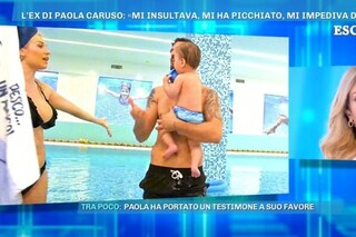 """Lite dietro le quinte tra Paola Caruso e Moreno, lei ammette: """"Ho un brutto carattere, sono provata"""""""