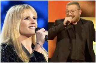 """All Together Now, Don Giuliano canta Più bella cosa di Ramazzotti. Michelle Hunziker: """"Pezzo audace"""""""