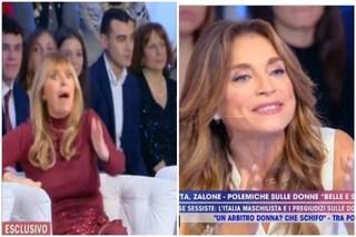"""Alessandra Mussolini a Caterina Collovati: """"Un uomo lo colpisci se gli dici che ce l'ha piccolo"""""""