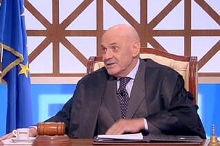 """Il giudice Francesco Foti ritorna a Forum e si paragona a Enzo Tortora: """"Dove eravamo rimasti?"""""""