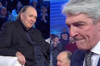 Giampiero Galeazzi a Domenica In, Paolo Rossi scoppia a piangere per l'emozione