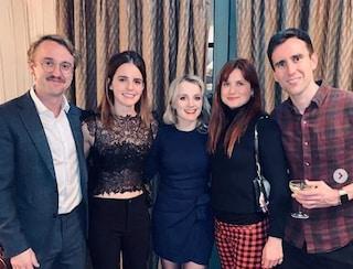 I maghi di Harry Potter di nuovo insieme, la reunion del cast in occasione del Natale