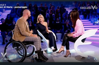 "Michelle Hunziker in Tv con Federico, cantante disabile di All Toghether Now: ""Ha fatto un miracolo"""