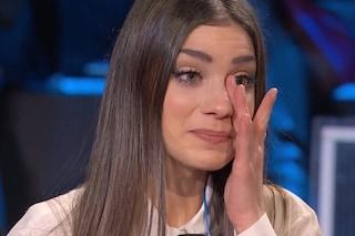 """Enrica Musto piange durante la finale di 'Tu sì que vales', Belén: """"Non ci crede abbastanza"""""""