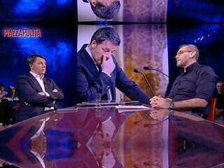 """Lo """"sgarro"""" di Matteo Renzi a Corrado Formigli, dopo le accuse reciproche va ospite da Del Debbio"""