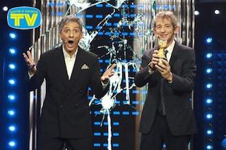 Fiorello personaggio del decennio 2010 - 2019, premiato con un Telegatto Speciale