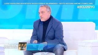 """Domenica Live, il padre di Luigi Favoloso: """"Lui è la vittima, Nina Moric non mi è mai piaciuta"""""""