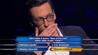 """A """"Chi vuol essere milionario?"""" Enrico vicino all'impresa, leggerà la domanda da un milione di euro"""