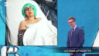 """Luciana Littizzetto al telefono a Che Tempo Che Fa: """"Sono inciampata nei lacci delle scarpe"""""""