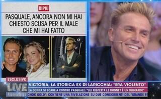 """Pasquale Laricchia risponde a Victoria Pennington: """"Non sono mai stato violento con lei"""""""