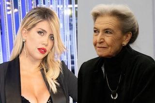 """""""Wanda Nara è un mostro"""": Barbara Alberti dimentica il microfono e offende l'opinionista del Gf Vip"""