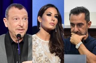 "Sanremo 2020, Amadeus su Elisabetta Gregoraci esclusa da Nicola Savino: ""Deve rispettare i no"""