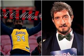 Trionfo d'ascolti per Milan-Torino con l'omaggio a Kobe Bryant, in calo La Pupa e il Secchione