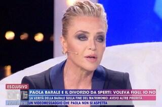 """Paola Barale: """"Gianni Sperti e Raz Degan sono nel dimenticatoio, mi hanno fatto del male"""""""