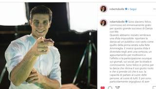 """Roberto Bolle celebra il successo in Tv: """"La danza torna a parlare al cuore di tutti"""""""