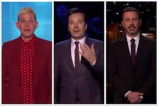 La Tv americana si ferma per la morte di Kobe Bryant: l'addio di Degeneres, Fallon e Kimmel