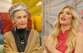 """Paola Caruso al Gf Vip, Barbara Alberti: """"Una così non la toccherei nemmeno con la forchetta"""""""
