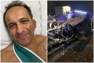 Incidente per Uccio De Santis, il comico barese sarà operato alla spalla e dovrà riposare 40 giorni