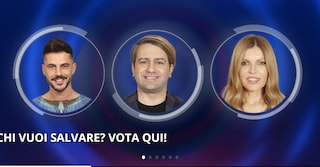 Al Grande Fratello Vip 2020 nessun eliminato: Andrea, Patrick e Rita in nomination