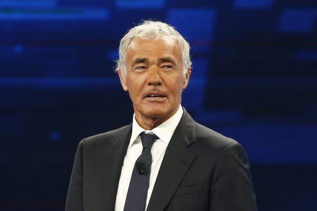 Massimo Giletti (ph Cecilia Fabiano – LaPresse)