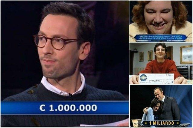 'Chi vuol essere milionario?', Enrico Remigio vince un milione di euro
