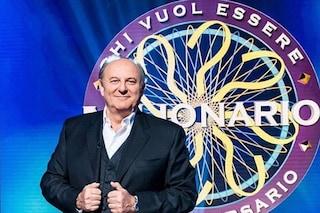 """Torna 'Chi vuole essere milionario?', la novità del quiz di Gerry Scotti è l'aiuto """"Switch"""""""