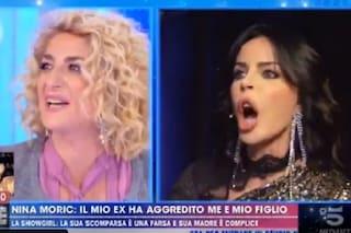"""Nina Moric: """"Ho denunciato Luigi Favoloso per violenze su Carlos, torni e affronti la giustizia"""""""