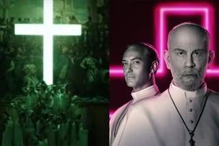 """The New Pope, il patriarcato di Venezia attacca Paolo Sorrentino: """"Offende e profana la croce"""""""