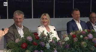 """Amadeus alla conferenza stampa di Sanremo: """"Le polemiche? Non ci sono primedonne"""""""