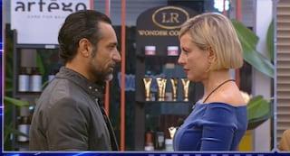 """Antonella Elia incontra Pietro Delle Piane: """"Non può avermi tradito non concepisco il tradimento"""""""