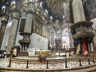 La messa di inizio Quaresima a porte chiuse nel Duomo di Milano: sarà trasmessa in diretta tv